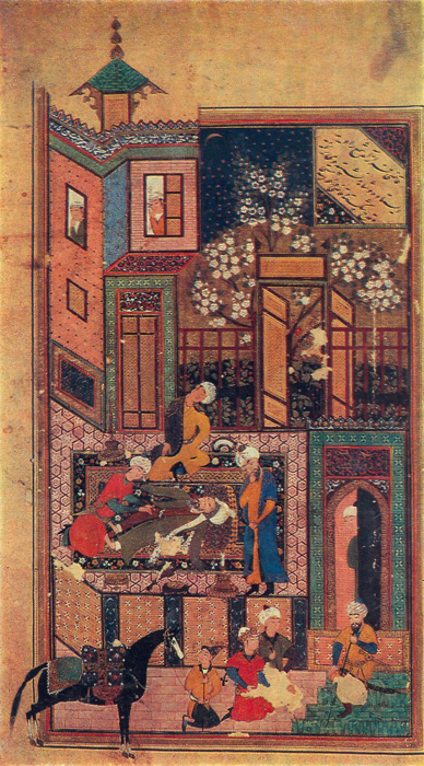 THE KING FINDS KAZI DRUNK, Saadi. «Gulistan»