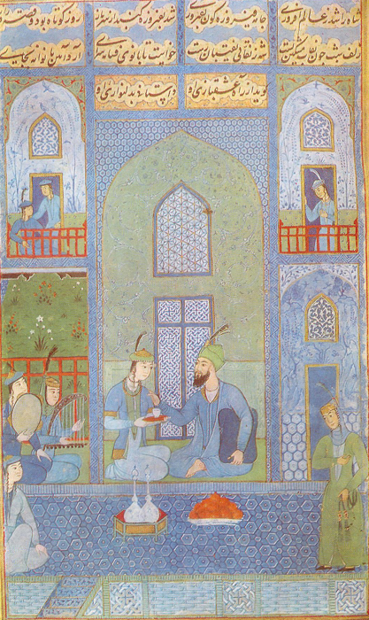 BAHRAM GUR IN THE BLUE PALACE, Nizami. «Hamsa»