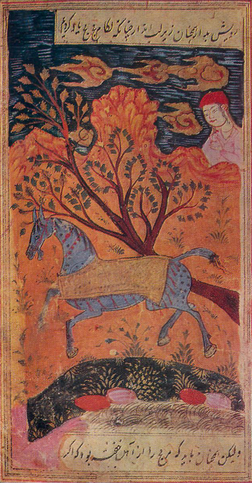 A YOUNG MAN AND A HORSE, «The book about Ilkhan hunt»