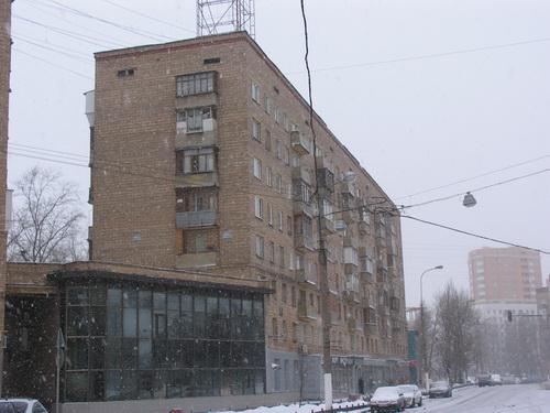 Кирпичные дома, Москва