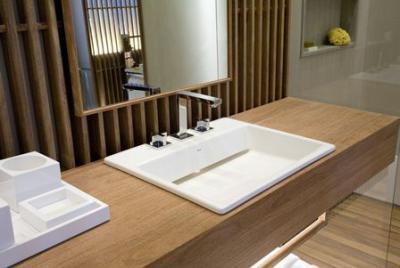 Модели умывальников для ванных комнат
