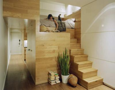Ловкость рук и кровать на подиуме