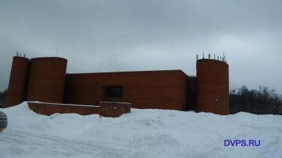 Палеонтологический музей им. Ю.А.Орлова - вид здания. Схема залов.