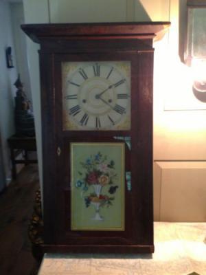Редкие антикварные настенные часы от Barnes Bartholomew