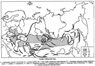 Тагарская культура - Ранний железный век в азиатской части СССР