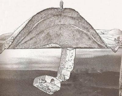 Большой Салбыкский курган, принадлежащий к тагарской культуре 6-2 века до н.э