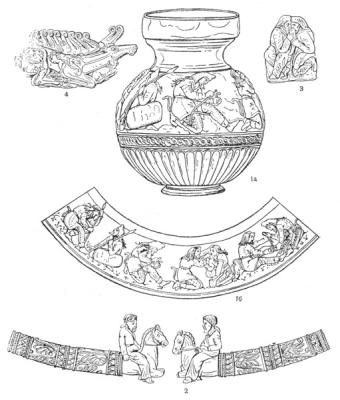 Ювелирные изделия из кургана Куль-Оба